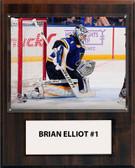 """NHL 12""""x15"""" Brian Elliott St. Louis Blues Player Plaque"""