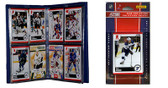 NHL St. Louis Blues Licensed 2010 Score Team Set and Storage Album