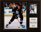 "NHL 12""x15"" Ryan Malone Tampa Bay Lightning Player Plaque"