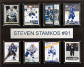 "NHL 12""x15"" Steven Stamkos Tampa Bay Lightning 8-Card Plaque"
