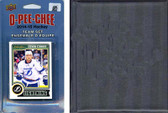 NHL Tampa Bay Lightning 2014 O-Pee-Chee Team Set and a storage album
