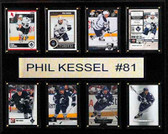 "NHL 12""x15"" Phil Keseel Toronto Maple Leafs 8-Card Plaque"