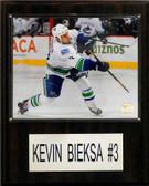 "NHL 12""x15"" Kevin Bieska Vancouver Canucks Player Plaque"