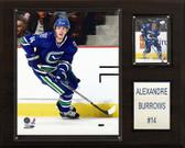 "NHL 12""x15"" Alex Burrows Vancouver Canucks Player Plaque"