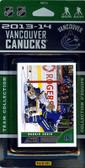 NHL Vancouver Canucks 2013 Score Team Set