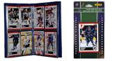 NHL Vancouver Canucks Licensed 2010 Score Team Set and Storage Album