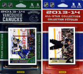 NHL Vancouver Canucks Licensed 2013-14 Score Team Set and All-Star Set