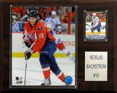 """NHL 12""""x15"""" Nicklas Backstrom Washington Capitals Player Plaque"""