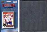 NHL Washington Capitals 2014 O-Pee-Chee Team Set and a storage album