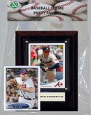 MLB Atlanta Braves Party Favor With 4x6 Plaque