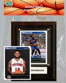 NBA Detroit Pistons Party Favor With 4x6 Plaque