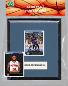 NBA Detroit Pistons Party Favor With 6x7 Mat and Frame