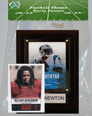 NFL Carolina Panthers Party Favor With 4x6 Plaque