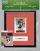 NFL Cincinnati Bengals Party Favor With 6x7 Mat and Frame
