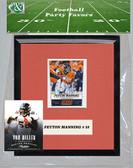 NFL Denver Broncos Party Favor With 6x7 Mat and Frame