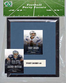 NFL Dallas Cowboys Party Favor With 6x7 Mat and Frame