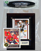 NHL Chicago Blackhawks Party Favor With 4x6 Plaque