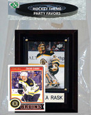 NHL Boston Bruins Party Favor With 4x6 Plaque