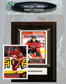 NHL Calgary Flames Party Favor With 4x6 Plaque