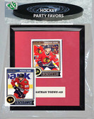 NHL Chicago Blackhawks Party Favor With 6x7 Mat and Frame