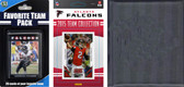 NFL Atlanta Falcons Licensed 2015 Score Team Set and Favorite Player Trading Card Pack Plus Storage Album
