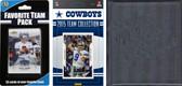 NFL Dallas Cowboys Licensed 2015 Score Team Set and Favorite Player Trading Card Pack Plus Storage Album