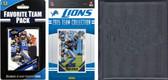 NFL Detroit Lions Licensed 2015 Score Team Set and Favorite Player Trading Card Pack Plus Storage Album