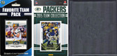 NFL Green Bay Packers Licensed 2015 Score Team Set and Favorite Player Trading Card Pack Plus Storage Album