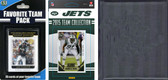 NFL New York Jets Licensed 2015 Score Team Set and Favorite Player Trading Card Pack Plus Storage Album