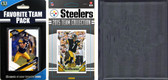 NFL Pittsburgh Steelers Licensed 2015 Score Team Set and Favorite Player Trading Card Pack Plus Storage Album