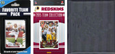 NFL Washington Redskins Licensed 2015 Score Team Set and Favorite Player Trading Card Pack Plus Storage Album