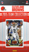 NFL Cleveland Browns Licensed 2015 Score Team Set.