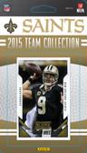 NFL New Orleans Saints Licensed 2015 Score Team Set.
