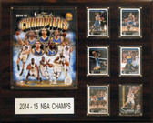 "NBA 16""x20"" Golden State Warriors 2014-2015 NBA Champions Plaque"