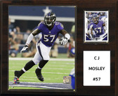 "NFL 12""x15"" C.J. Mosley Baltimore Ravens Player Plaque"