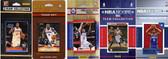 NBA Philadelphia 76ers 5 Different Licensed Trading Card Team Sets