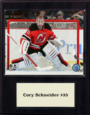 "NHL 12""x15"" Cory Schneider New Jersey Devils Player Plaque"