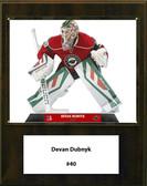 "NHL 12""x15"" Devan Dubnyk Minnesota Wild Player Plaque"