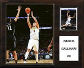 """NBA 12""""x15""""  Danilo Gallinari Denver Nuggets Player Plaque"""