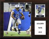 """NFL 12""""x15"""" Golden Tate Detroit Lions Player Plaque"""