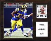 "NFL 12""x15"" Todd Gurley St. Louis Rams Player Plaque"