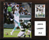 """NFL 12""""x15"""" Jarvis Landry Miami Dolphins Player Plaque"""
