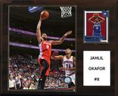 "NBA 12""x15"" Jahlil Okafor Philadelphia 76ers Player Plaque"