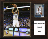 "NBA 12""x15"" Karl-Anthony Towns Minnesota Timberwolves Player Plaque"