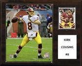 "NFL 12""x15"" Kirk Cousins Washington Redskins Player Plaque"