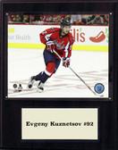 "NHL 12""x15"" Evgeny Kuznetsov Washington Capitals Player Plaque"