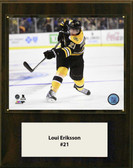 "NHL 12""x15"" Loui Eriksson Boston Bruins Player Plaque"