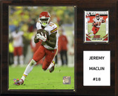 "NFL 12""x15"" Jeremy Maclin Kansas City Chiefs Player Plaque"
