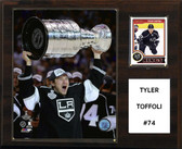 """NHL 12""""x15"""" Tyler Toffoli Los Angeles Kings Player Plaque"""