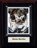 """NFL 4""""x6"""" Blake Bortles Jacksonsville Jaguars Player Plaque"""